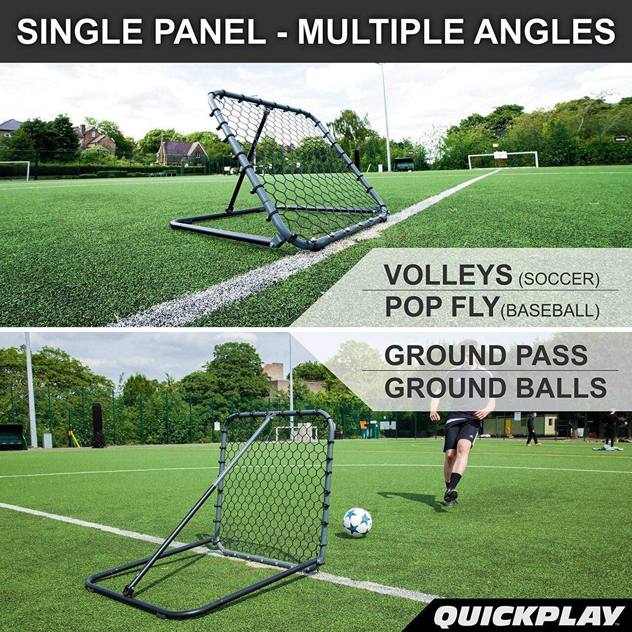 Футбольный тренажер стенка QUICKPLAY PRO REBOUNDER 3x3 купить в ... 09e0836b827