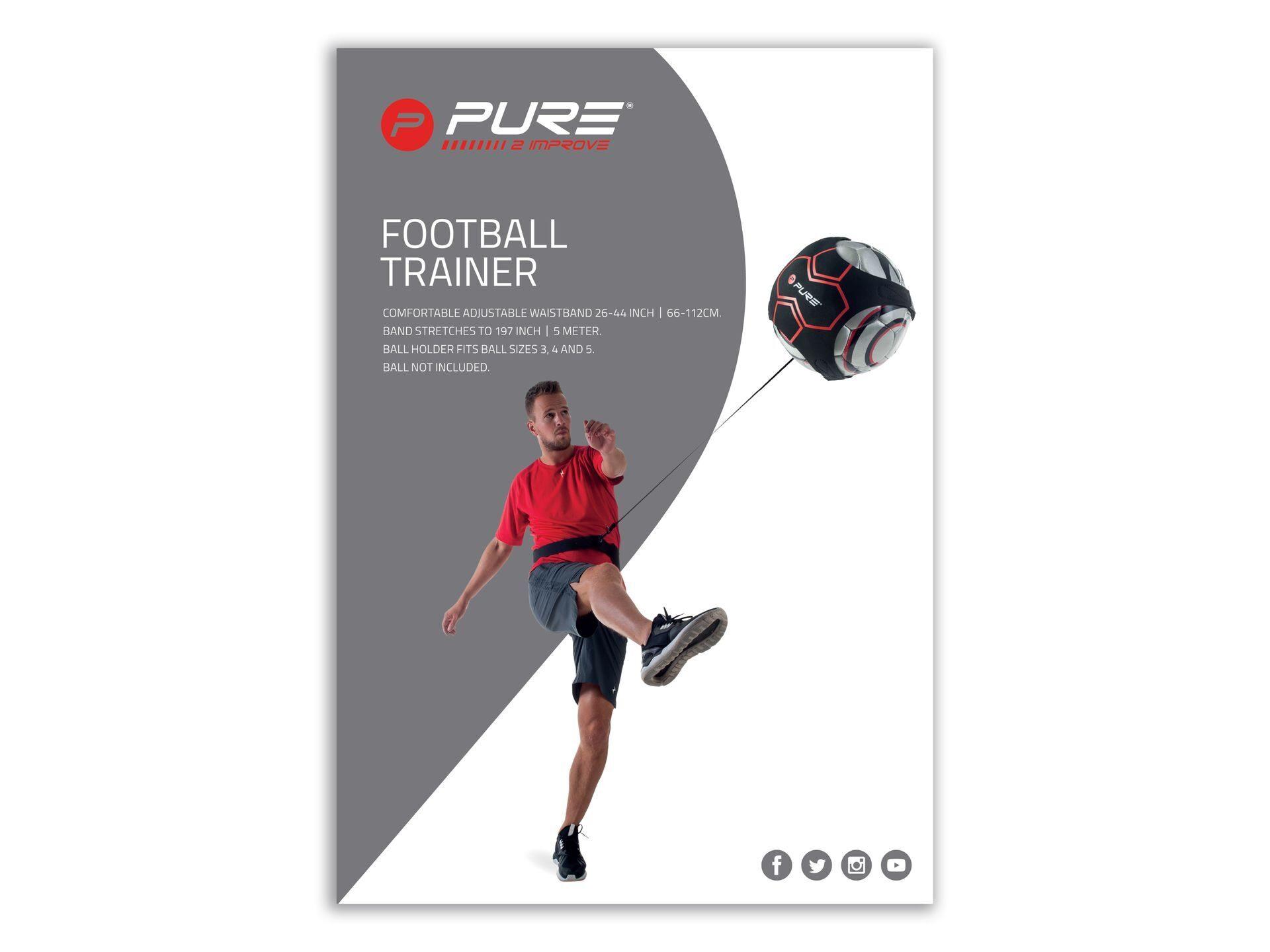 Футбольный тренажер PURE2IMPROVE FOOTBALL TRAINER купить в Москве по ... 87daef636bc