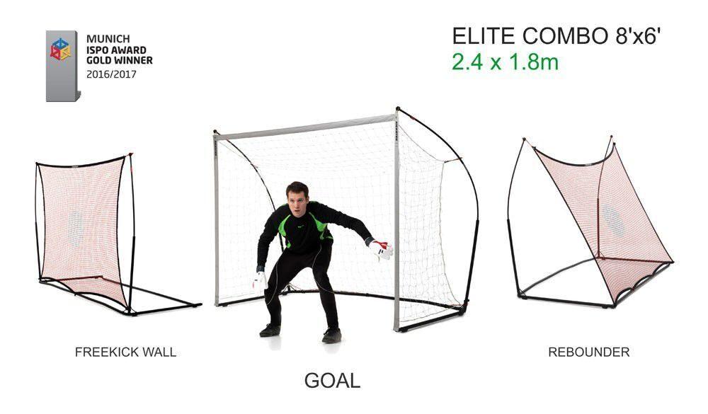 Футбольные ворота - стенка (3 в 1) QUICKPLAY SPOT ELITE REBOUNDER 8x6 ·  futbolnyye vorota stenka 2 v 1 quickplay spot elite rebounder 8x5 2.jpg 42baf572156