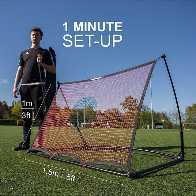 Тренировочная сетка – стенка QUICKPLAY SPOT ELITE 1,5x1 м. 8 400 руб.  Складной футбольный тренажер SKLZ QUICKSTER SOCCER TRAINER d8cb9fb27c4