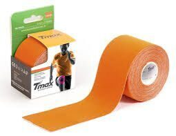Кинезио тейп Tmax Kinesiology Extra Sticky Tape Оранжевый