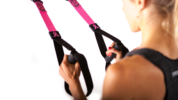 Тренажер - петли TRX Pink HOME Suspension Training Kit